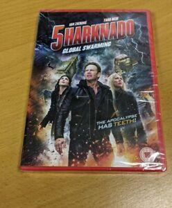 SHARKNADO 5 - UK DVD - Ian Ziering Tara Reid - NEW AND SEALED