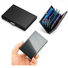 Cool Men's Stainless Steel Card Holder Wallet Money Clip Cash Pocket Card Case