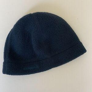 Patagonia Hat Cap Beanie Baby Size XS Fleece Blue