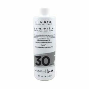 CLAIROL PURE WHITE 30 CREME DEVELOPER EXTRA LIFT 16 OZ PROFESSIONAL USE