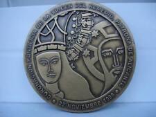 Medalla de bronce. Coronación Virgen del Remedio. Alicante. 1998. Curación Peste