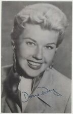 Doris Day vintage 1955 Celebrity Autographs Series Postcard #193 Film Star E2
