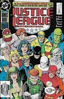 Justice League Comic 24 International Copper Age First Print 1989 Giffen DC