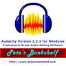 Audacity -  Version 2.2.2 for Windows on CD - Edit & Convert Audio Like A Pro!!!