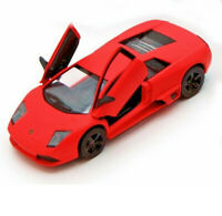 "5"" Lamborghini Murcielago LP640 1:36 Scale model car Matt Orange Kinsmart"