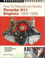 PORSCHE 911 HOW TO REBUILD ENGINES MANUAL BOOK MODIFY DEMPSEY