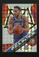 BEN SIMMONS 2020 Panini Mosaic SILVER PRIZM #15 Will To Win Philadelphia 76ers