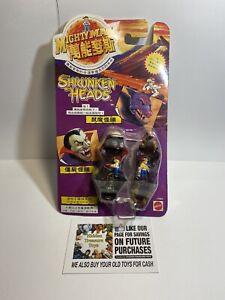 Sealed! 1994 Mighty Max Bluebird Toys ~ Shrunken Heads ~ Vampyre & Rat Trap Moc
