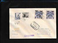 Kanarische Inseln (Spanien) A30 Briefe/Belege mit Nummer A33,A24, Flugpost nach