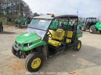 2013 John Deere XUV 550 S4 UTV ATV Utility Cart Gator 4WD 4X4 bidadoo