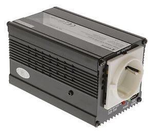 Wechselrichter/Spannungswandler auf Schuko von 12V auf 230V 300Watt
