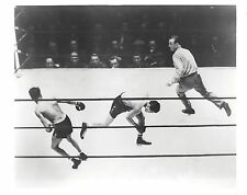 HENRY ARMSTRONG vs CEFERINO GARCIA 8X10 PHOTO BOXING PICTURE
