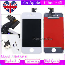 For iPhone 4s Screen Replacement LCD Touch Display Digitizer Assembly White
