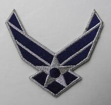 AIR FORCE WINGS USAF EMBROIDERED JACKET PATCH 3.2 INCHES