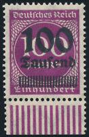 DR 1923, MiNr. 289 a OPD Münster, tadellos postfrisch, Kurzbefund Oechsner