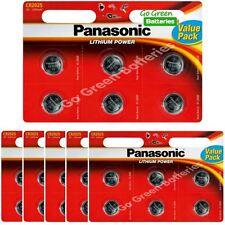 2 X Panasonic Cr2025 3v Lithium Coin Cell Battery