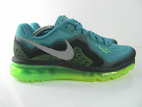 Nike Wmns Air Max 2014 Sneakers Running Green Silver Lime  Eur 39 US_8 UK 5.5