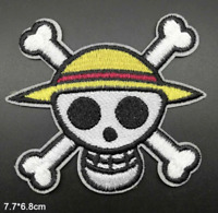 One Piece Patch for Embroidery Cloth Patches Badge Iron Sew On