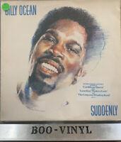 "BILLY OCEAN - SUDDENLY, A 9-TRACK  12"" VINYL LP, JIVE, HIP 12 (1984) Ex Con"