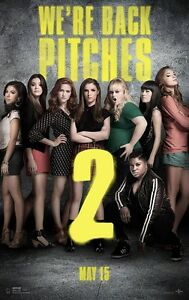 A3/A4 Size  - PITCH PERFECT 2 MUSIC  - VARIOUS ARTISTS  POSTER  - # 2