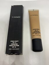 MAC Studio Sculpt SPF 15 Foundation NC45 1.3oz New In Box