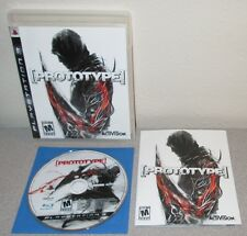 PROTOTYPE PlayStation 3 Complete w/Manual PlayedOnce Activision ActionAdventure