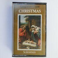 Gregorian Chant Christmas (Cassette)