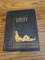 1947 BUTLER UNIVERSITY INDIANAPOLIS,INDIANA DRIFT YEARBOOK VTG BASKETBALL RARE