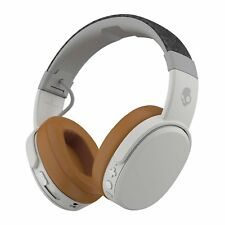 Skullcandy Crusher Bluetooth Wireless Over-Ear Headphone with Mic, WHITE