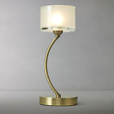 John Lewis Paige Touch Table Lamp Base Only Brass Finish RRP £65 - NO SHADE