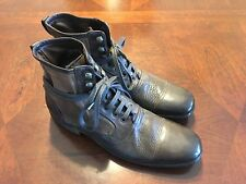 John Varvatos Made in Italy Limited Edition Lace-Up 'Bowery' Boot Brown US 8 NIB