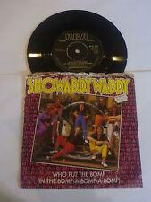 """Showaddywaddy-quien Puso El Bomp - 1982 Reino Unido 7"""" Viny Solo"""