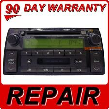 REPAIR SERVICE ONLY Toyota Camry Radio Single CD Player OEM JBL MP3 Factory Fix