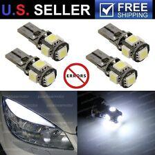 4x Mercedes Benz W204 C300 C350 C63 AMG LED W5W 5-SMD Eyebrow Eyelid Light Bulbs