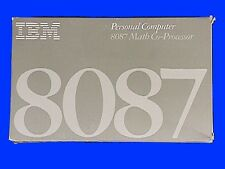 IBM 8087 Math Co Processor & 8088 Processor - Vintage IN THE BOX NEW for PC & XT