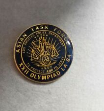 1984 LAPD ASIAN TASK FORCE OLYMPIC GAMES POLICE PIN