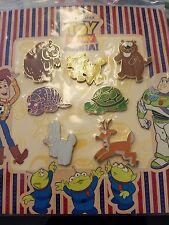 Disney Pixar Toy Story Mania! Animals 7 Piece Pin Set 2008 Bear Turtle More dp42