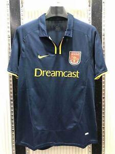 2000-01 Arsenal Away Soccer Shirt Jersey