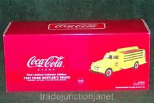 MIB 2002 FIRST GEAR COCA-COLA FIRST LE 1:34 DIECAST 1951 FORD BOTTLER'S TRUCK