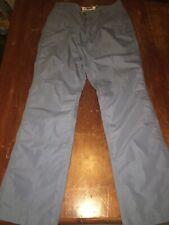 Mountain Khakis 31x32 Broadway Fit Stretch Chinos Work Pants Steel Blue 5 Pocket