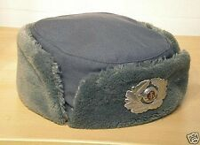 "East German (DDR) Female Winter Fur Field Hat {USHANKA}-Mint-""MdI"" marked-Sz. 53"