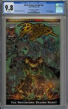 Battle Chasers Prelude #nn CGC 9.8 NM/MT Wp Image Comics 1998 Gold Foil Variant