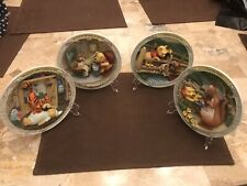 Winnie The Pooh Collectible 6 Plates