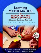 NEW - Free Ship - Learning Mathematics in Elementary and Middle Schools (5 Ed)