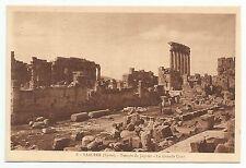 cartes postales-liban-baalbek-ptd. Le Temple of Jupiter