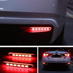 For 2019 2020 NISSAN ALTIMA LED Rear Fog Light Tail Bumper Light Sets