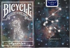Aquarius Constellation Bicycle Playing Cards Poker Size Deck USPCC Custom