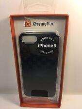 XtremeMac IPP-TWN-13 Tuffwrap Case for iPhone 5/5s Licorice Black