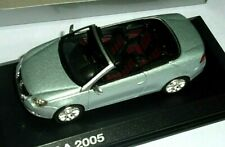 car 1/43 NOREV 1F0099300AK7W VOLKSWAGEN EOS CABRIO IAA 2005 MET SILVER NEW BOX
