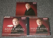 Bel Canto Arias Barry Banks~RARE 2004 EU Import Opera In English CD~Booklet~FAST